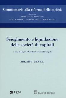 Scioglimento e liquidazione delle società di capitali. Artt. 2484-2496 c.c..pdf