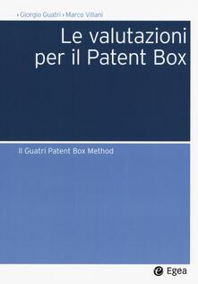 Listadelpopolo.it Le valutazioni per il Patent Box. Il Guatri Patent Box Method Image