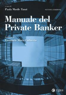 Cefalufilmfestival.it Manuale del private banker Image
