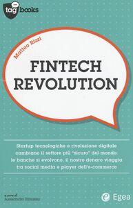 Foto Cover di Fintech revolution, Libro di Matteo Rizzi, edito da EGEA