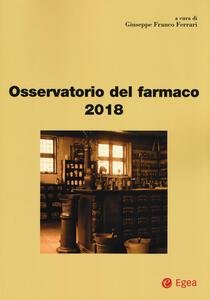 Osservatorio del farmaco 2018