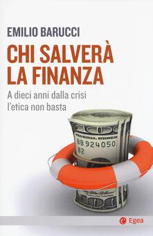 Fondazionesergioperlamusica.it Chi salverà la finanza. A dieci anni dalla crisi l'etica non basta Image