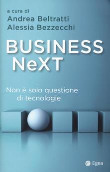 Equilibrifestival.it Business next. Non è solo questione di tecnologie Image