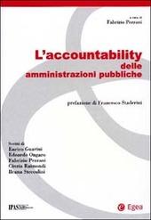 L' accountability delle amministrazioni pubbliche