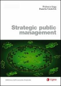 Strategic piblic management