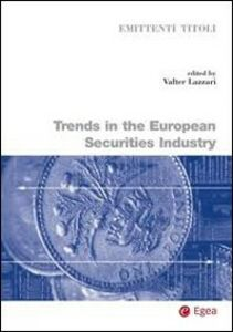 Libro Trends in the european securities industry