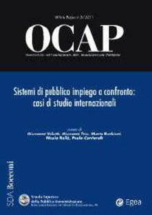 Osteriacasadimare.it OCAP. Osservatorio sul cambiamento delle amministrazioni pubbliche (2011). Vol. 3: Sistema di pubblico impiego a confronto. Casi di studio internazionali. Image