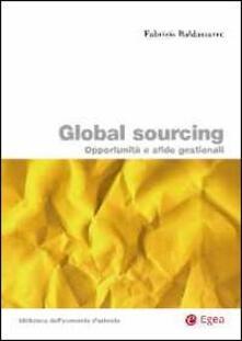 Daddyswing.es Global sourcing. opportunità e sfide gestionali Image