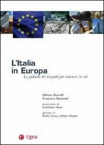 L' Italia in Europa. Le politiche dei trasporti per rimanere in rete