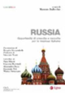 Foto Cover di Russia. Opportunità di crescita e raccolta per le imprese italiane, Libro di  edito da EGEA