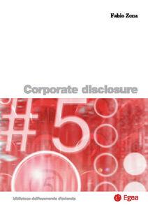 Libro Corporate disclosure Fabio Zona