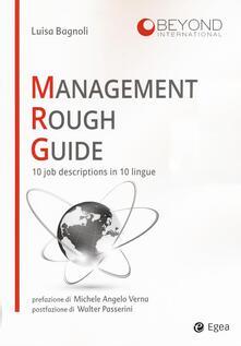 Writersfactory.it Management rough guide. 10 job descriptions in 10 lingue Image