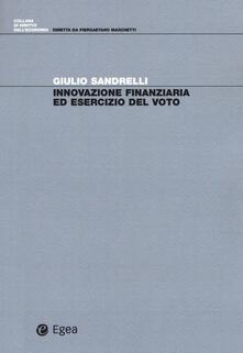 Innovazione finanziaria ed esercizio del voto.pdf