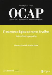 Rallydeicolliscaligeri.it OCAP. Osservatorio sul cambiamento delle amministrazioni pubbliche (2019). Vol. 1: innovazione digitale nei servizi di welfare. Stato dell'arte e prospettive, L'. Image