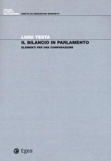 Grandtoureventi.it Il bilancio in parlamento. Elementi per una comparazione Image