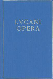 Libro Opera M. Anneo Lucano