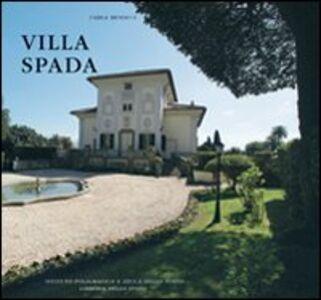 Libro Villa Spada Carla Benocci