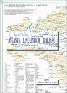 Atlante linguistico italiano. Vol. 2: La famiglia e le età dell'uomo.