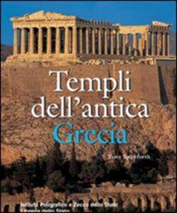 Libro Templi dell'antica Grecia Tony Spawforth