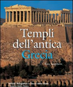 Libro Templi dell'antica Grecia Tony Spawforth