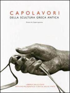 Foto Cover di Capolavori della scultura greca antica, Libro di Photini N. Zaphiropoulou, edito da Ist. Poligrafico dello Stato
