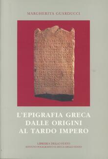 Promoartpalermo.it L' epigrafia greca dalle origini al tardo impero Image
