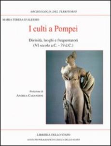 Libro I culti a Pompei M. Teresa D'Alessio