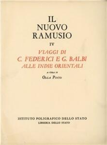 Camfeed.it I viaggi di C. Federici e G. Balbi alle Indie Orientali Image