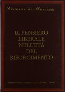 Libro Il pensiero liberale nell'età del Risorgimento Valerio Castronovo