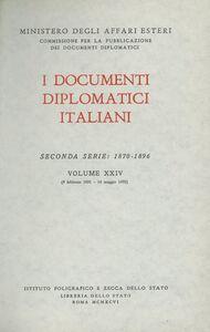 Foto Cover di I documenti diplomatici italiani. Serie 2ª (1870-1896). Vol. 24: 9 febbraio 1891-14 maggio 1892., Libro di  edito da Ist. Poligrafico dello Stato