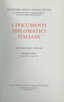 Lpgcsostenible.es I documenti diplomatici italiani. Serie 2ª (1870-1896). Vol. 27: 1º aprile 1895-9 marzo 1896. Image