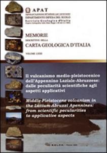 Libro Il vulcanismo medio-pleistocenico dell'Appennino laziale-abruzzese: dalle peculiarità scientifiche agli aspetti applicativi M. D'orefice