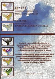 Libro Carte di vulnerabilità finalizzate al monitoraggio dei corpi idrici sotterranei. Aspetti metodologici generali e prima sperimentazione nella'area...