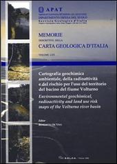 Cartografia geochimica ambientale, della radioattività e del rischio per l'uso del territorio del bacino del fiume Volturno