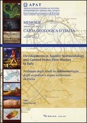 Sviluppo degli studi in sedimentologia degli acquiferi e acque sotterranee in Italia