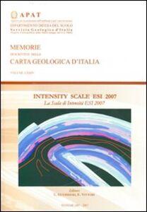 Intensity scale ESI 2007