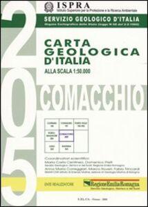Foto Cover di Carta geologica d'Italia 1:50.000 F° 205. Comacchio. Con note illustrative, Libro di  edito da Ist. Poligrafico dello Stato