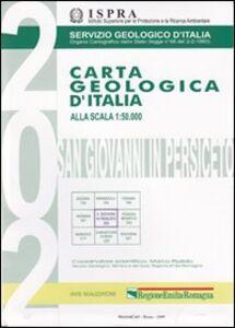 Foto Cover di Carta geologica d'Italia 1:50.000 F° 202. S. Giovanni in Persiceto. Con note illustrative, Libro di  edito da Ist. Poligrafico dello Stato