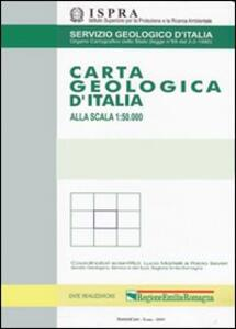 Carta geologica d'Italia alla scala 1:50.000 F°432. Benevento con note illustrative