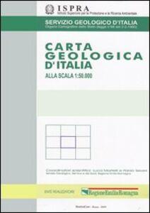 Libro Carta geologica 1:50.000 F° 258-271. San Remo