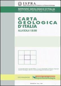 Libro Carta geologica d'Italia 1:50.000 F° 633. Paternò