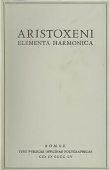 Ristorantezintonio.it Aristoxeni elementa harmonica Image