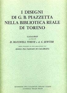 I disegni di G. B. Piazzetta nella Biblioteca Reale di Torino