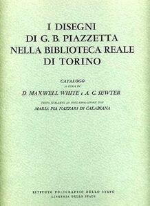 Foto Cover di I disegni di G. B. Piazzetta nella Biblioteca Reale di Torino, Libro di  edito da Ist. Poligrafico dello Stato