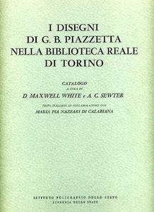 Libro I disegni di G. B. Piazzetta nella Biblioteca Reale di Torino