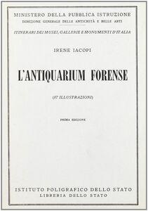 Libro L' antiquarium forense I. Jacopi