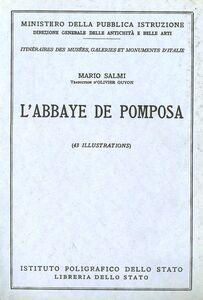 Libro L' Abbazia di Pomposa. Guida. Ediz. francese Mario Salmi