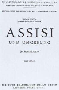 Libro Assisi e dintorni. Ediz. tedesca Emma Zocca