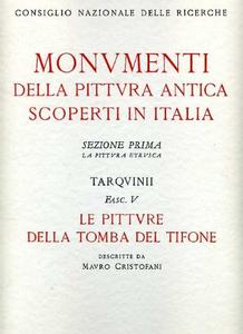 Libro Tarquinii. Le pitture della tomba del tifone Mauro Cristofani