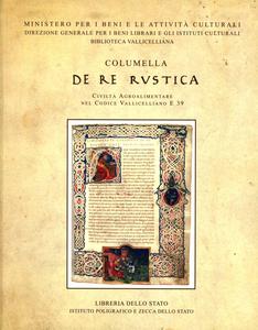Libro Columella: «De re rustica». Civiltà agroalimentare nel codice vallicelliano E 39